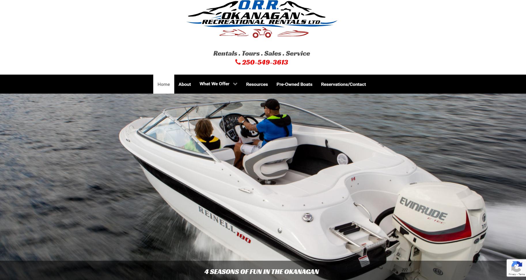 Okanagan Recreational Rentals