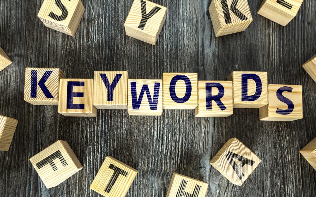 google ad words keywords