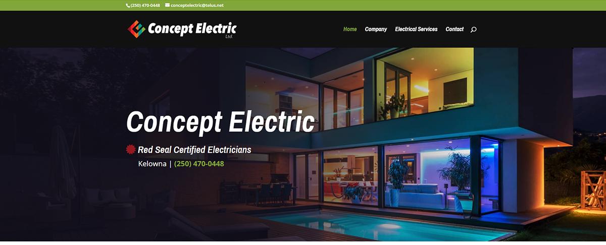 concept electric header