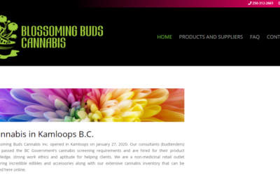 Blossoming Buds Cannabis Goes Live With Product Catalogue