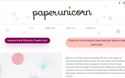 The Paper Unicorn – Personal and Fun