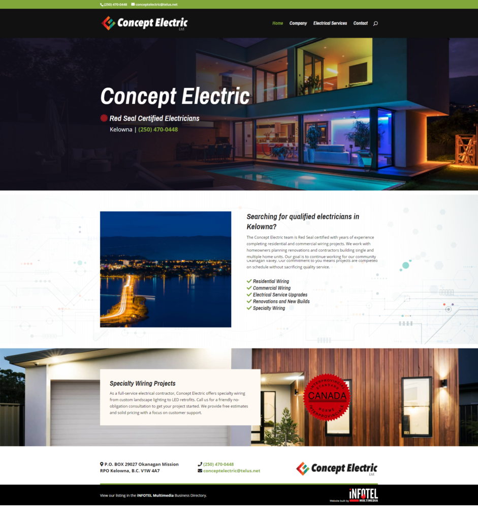 Concept Electric - Full Page