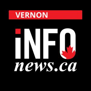 vernon infonews.ca black logo