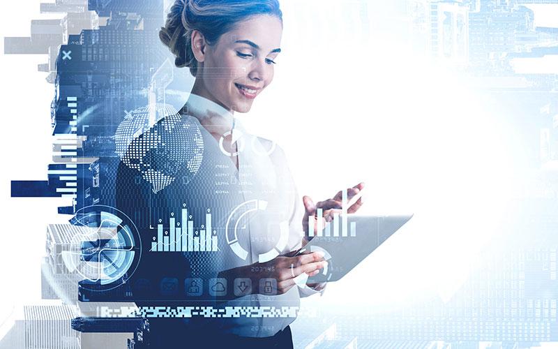 businesswoman-diverse-digital