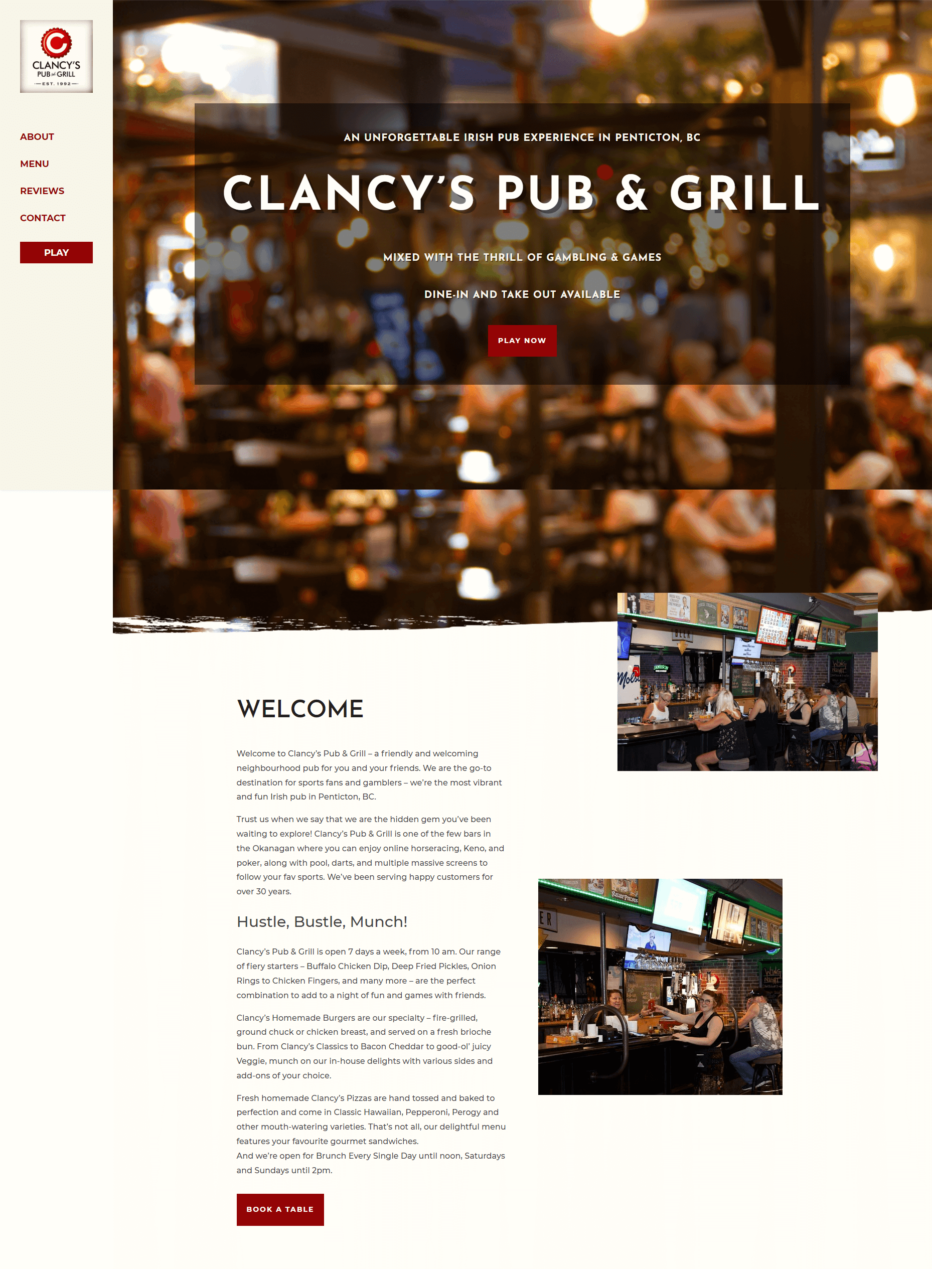 Clancy's Pub and Grill