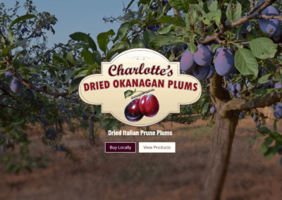 Okanogan Prune Plums