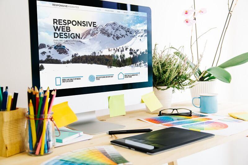 website design that gets noticed